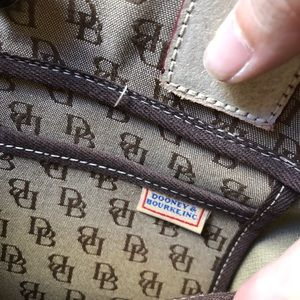 Dooney & Bourke Bags - Dooney and Bourke Small Canvas Tassle Tote NEW